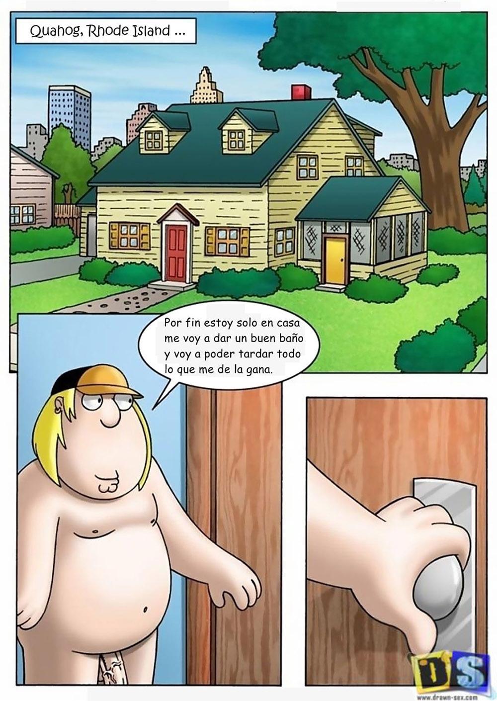 CHRIS y MEG Solos en Casa