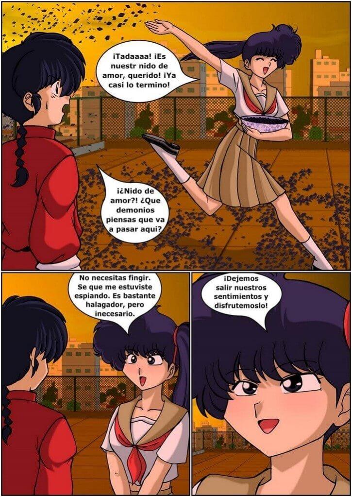 RANMA 1/2 - Black Rose of Furinkan parte 1