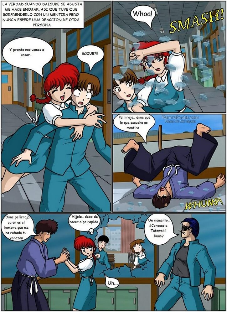 RANMA 1/2 - For Love of a Girl-Side