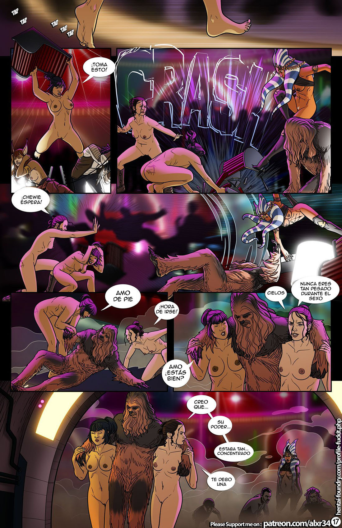 A Complete Guide to WOOKIE SEX parte 4