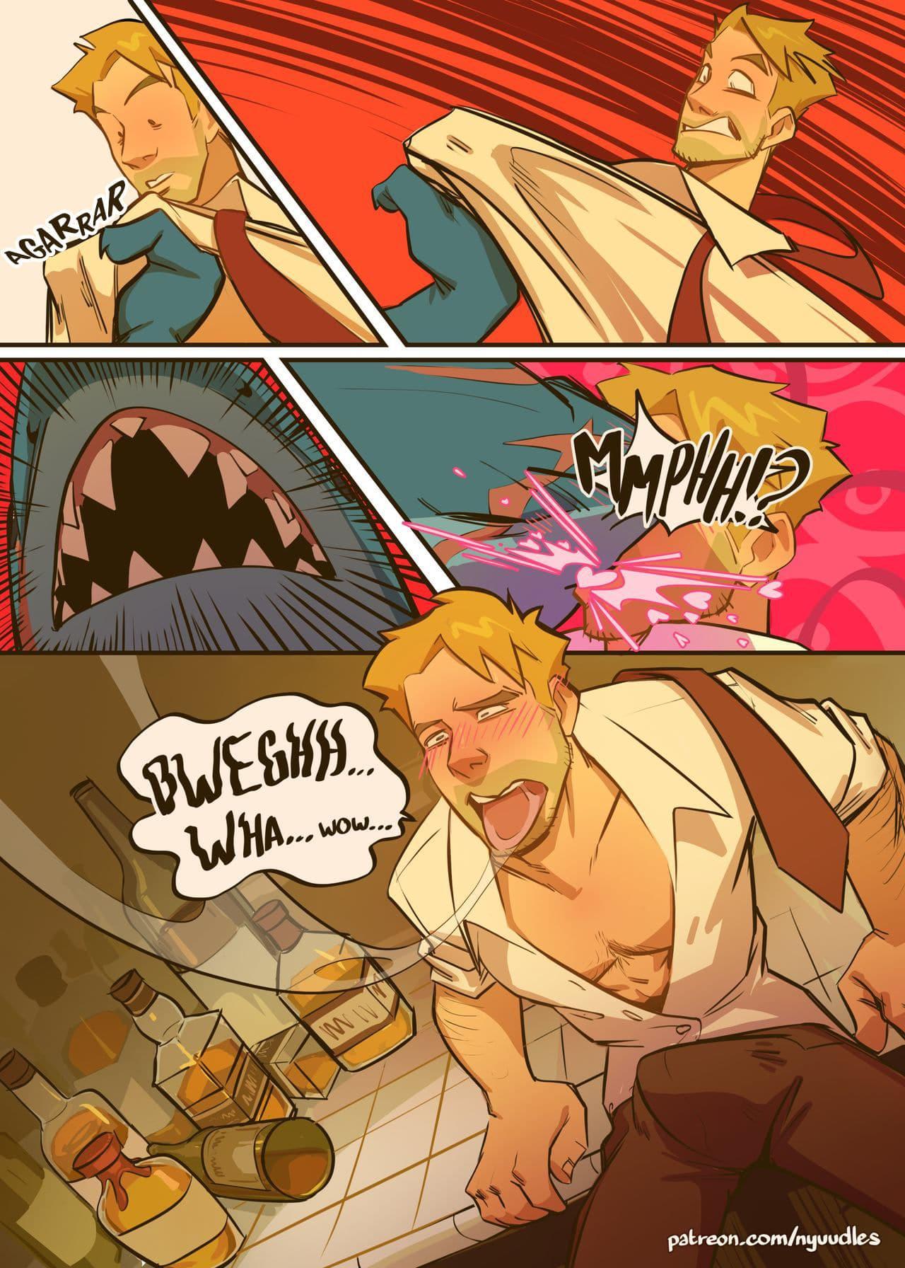 Spellbound a JOHN CONSTANTINE x King Shark
