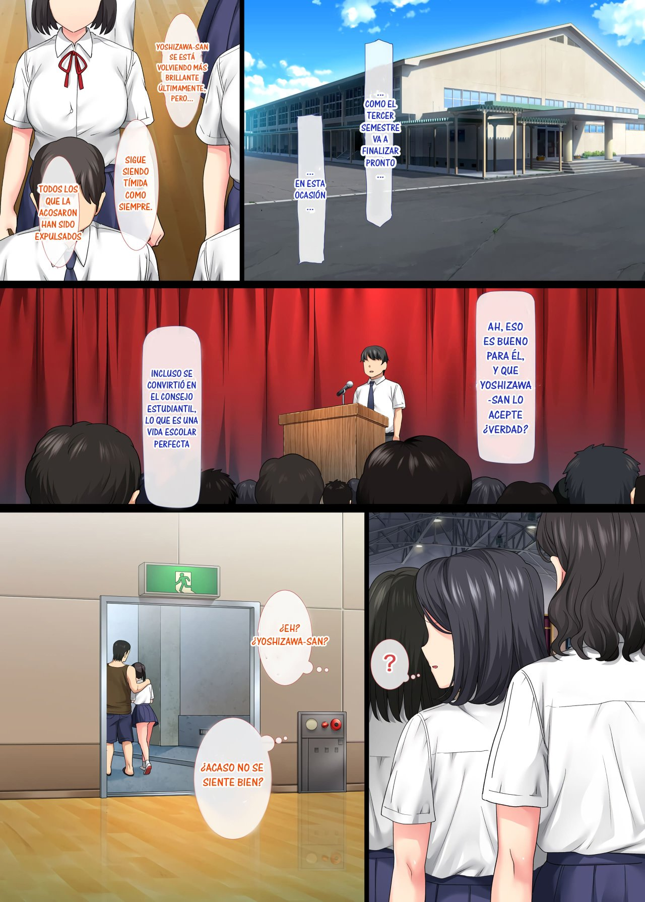 Introverted BEAUTY gets RAPED Over and Over by her Homeroom TEACHER parte 3