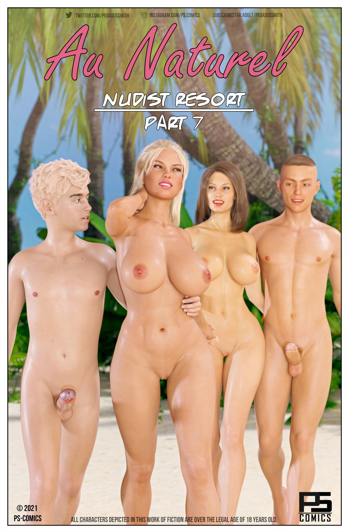 AU NATUREL - Nudist Resort parte 7