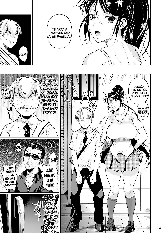 BATSU GAME de Yankee Onna ni Kokuttemita parte 3