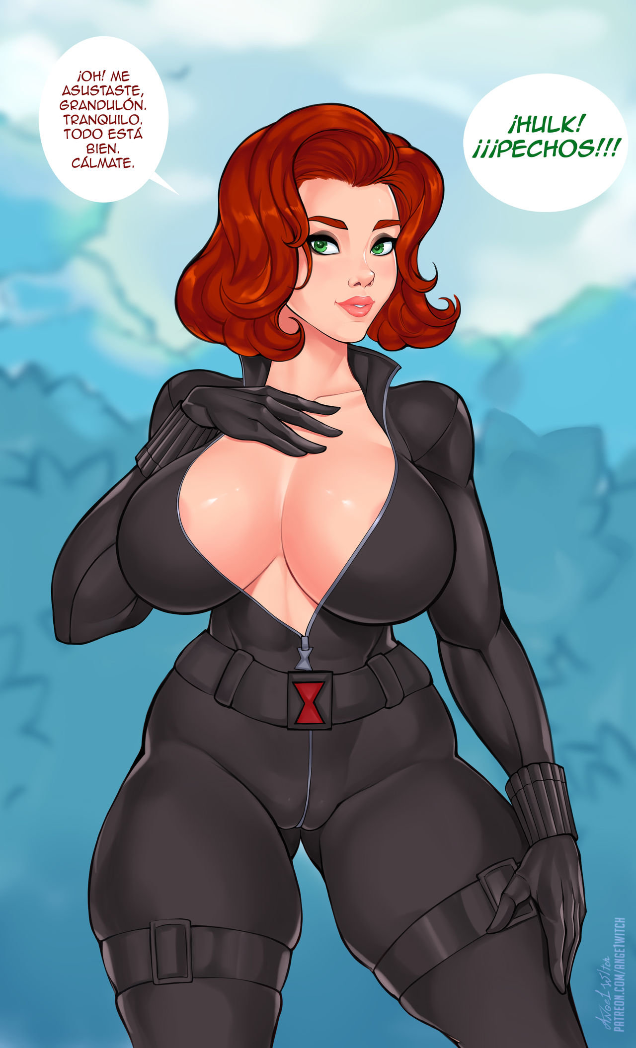 El Superpoder de BLACK WIDOW