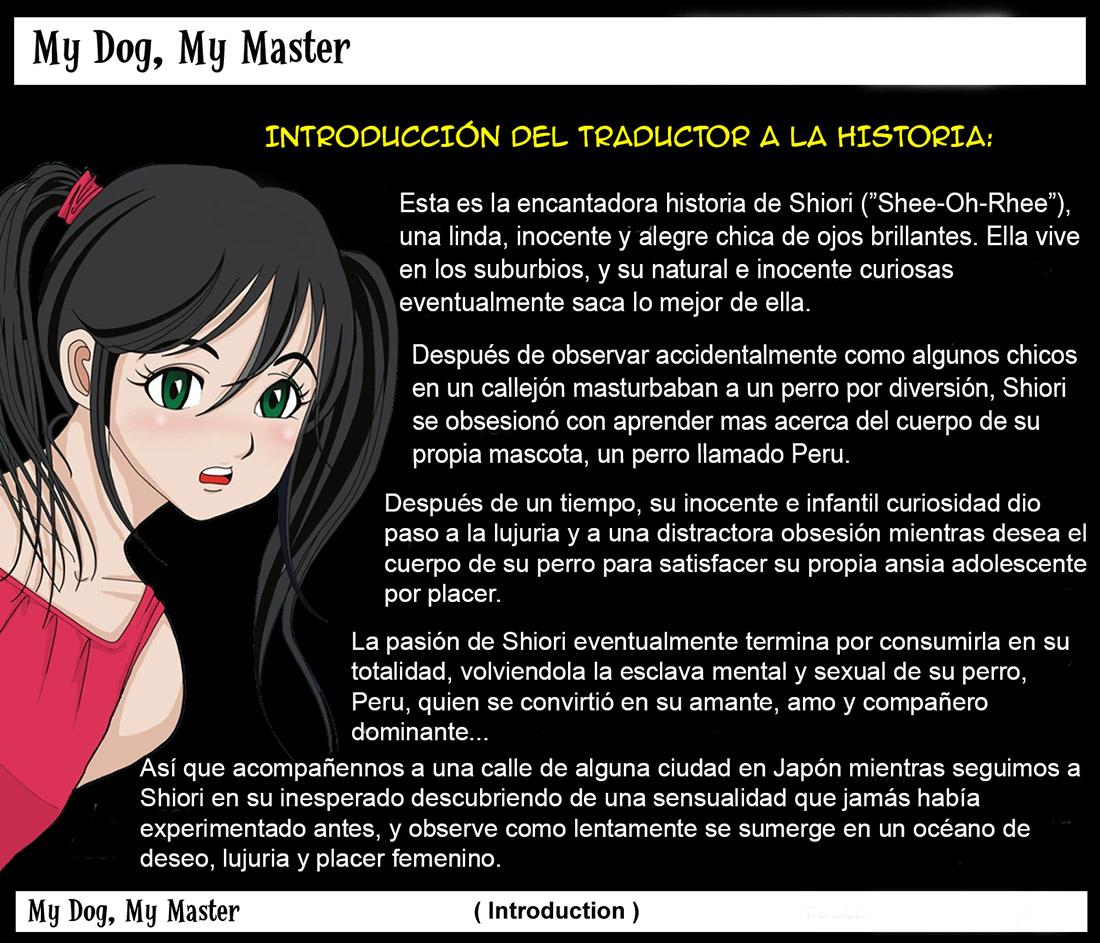 My DOG my MASTER