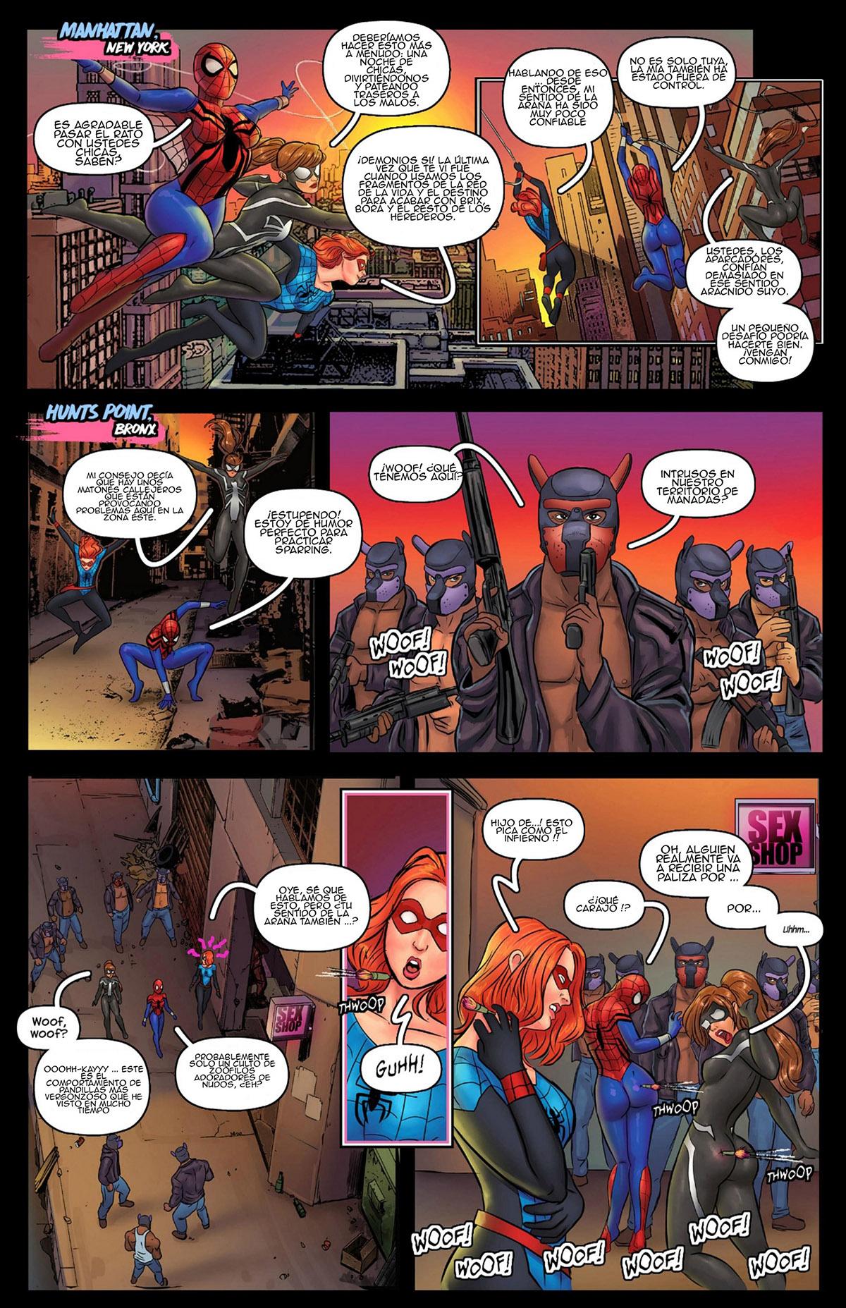 Stunning Howls - A SPIDER GIRLS Story