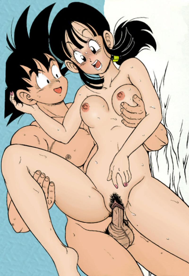 DRAGON BALL H - Goku x Milk