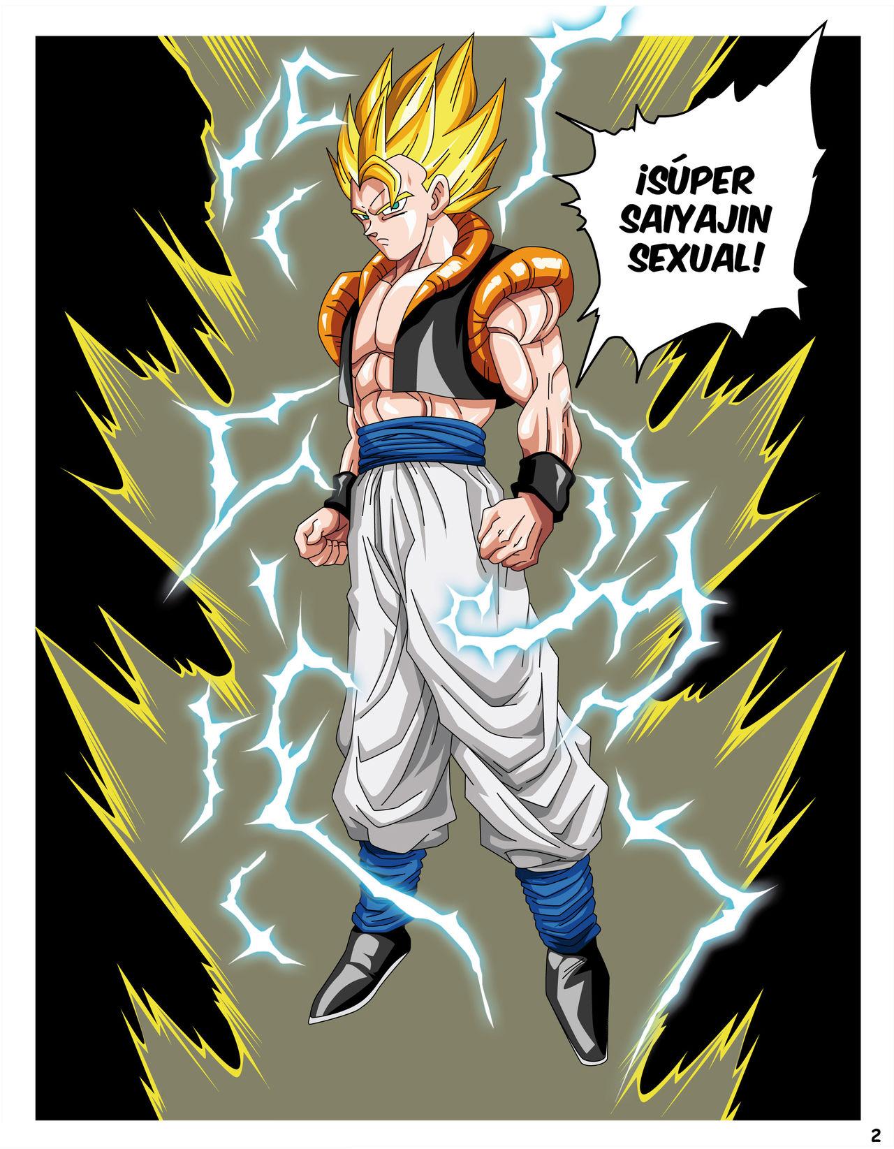 DRAGON BALL H - Super Saiyajin SEXUAL