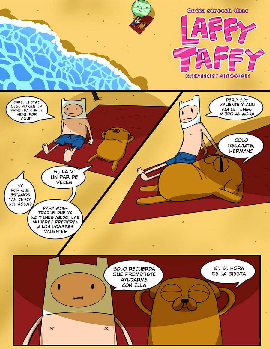 GOTTA STRETCH that Laffy Taffy