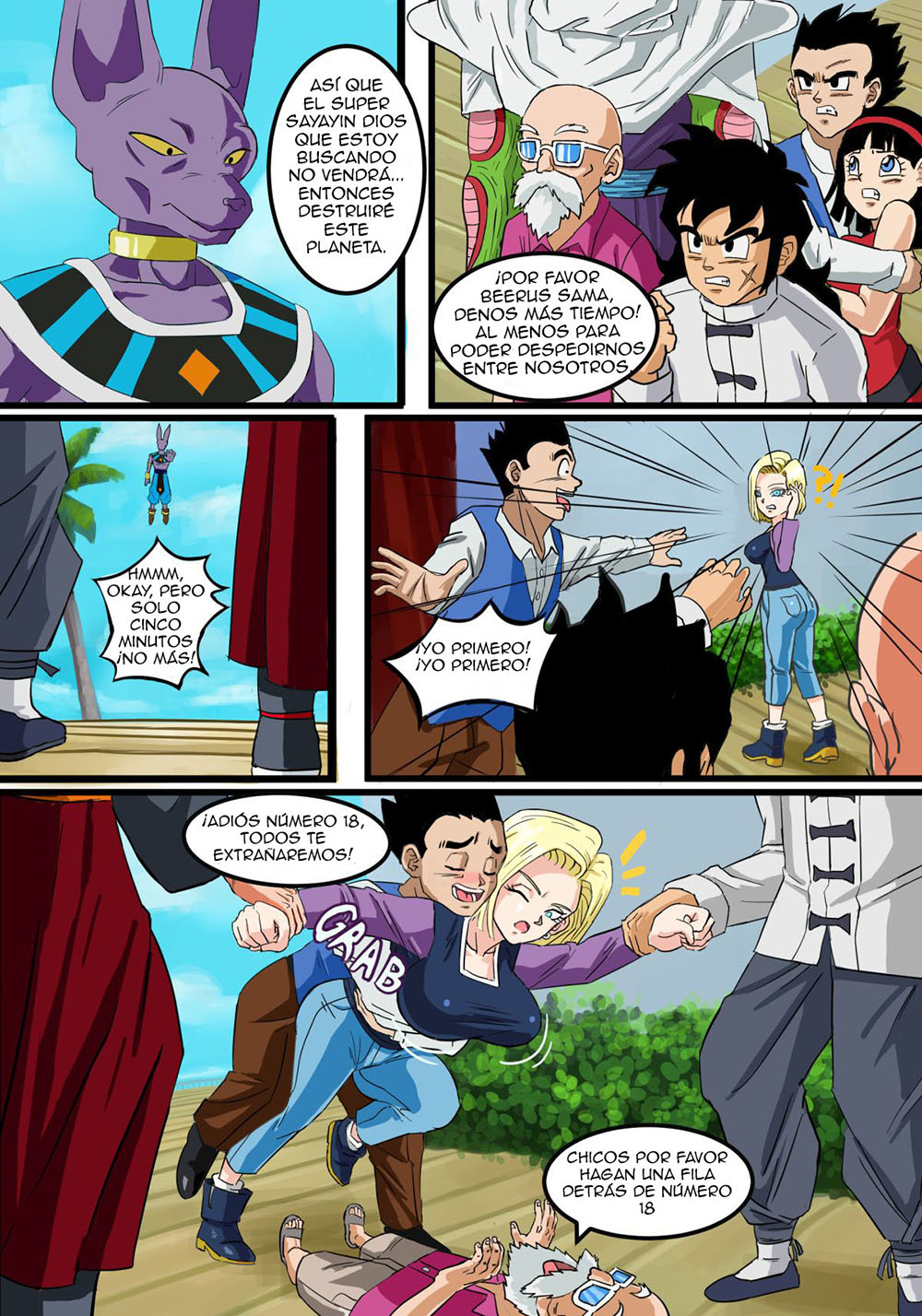 ANDROID 18 The Goddess Wife