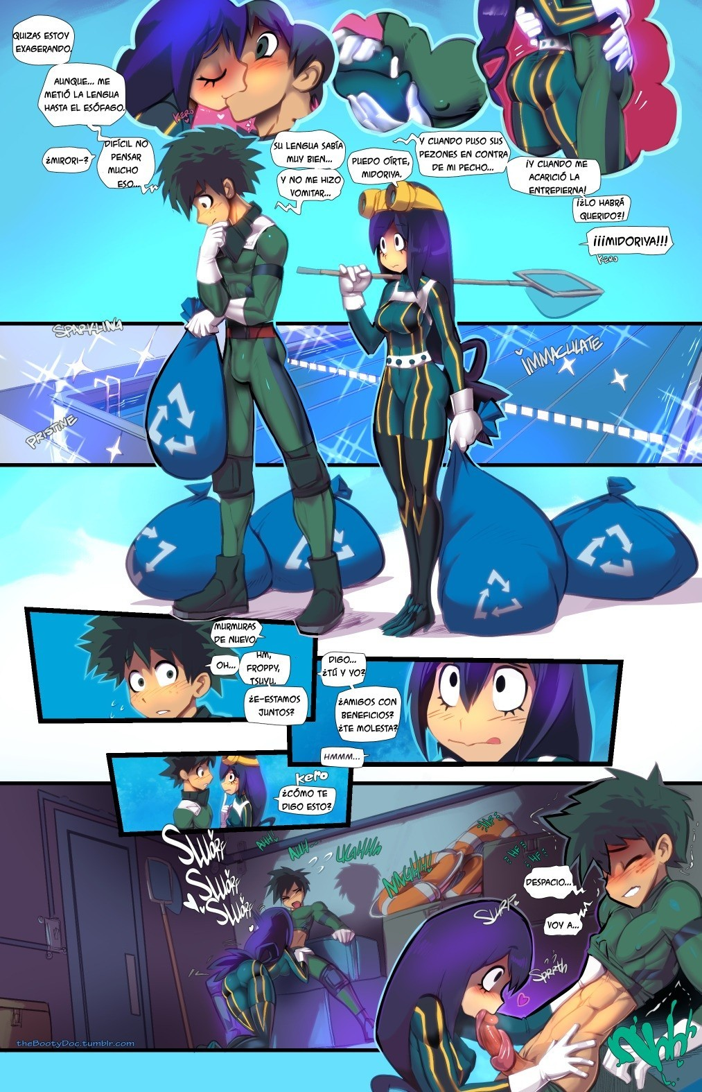 DEKU and FROPPY Smash!