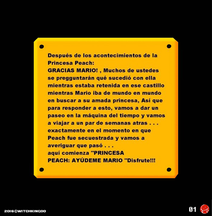 Help me MARIO!