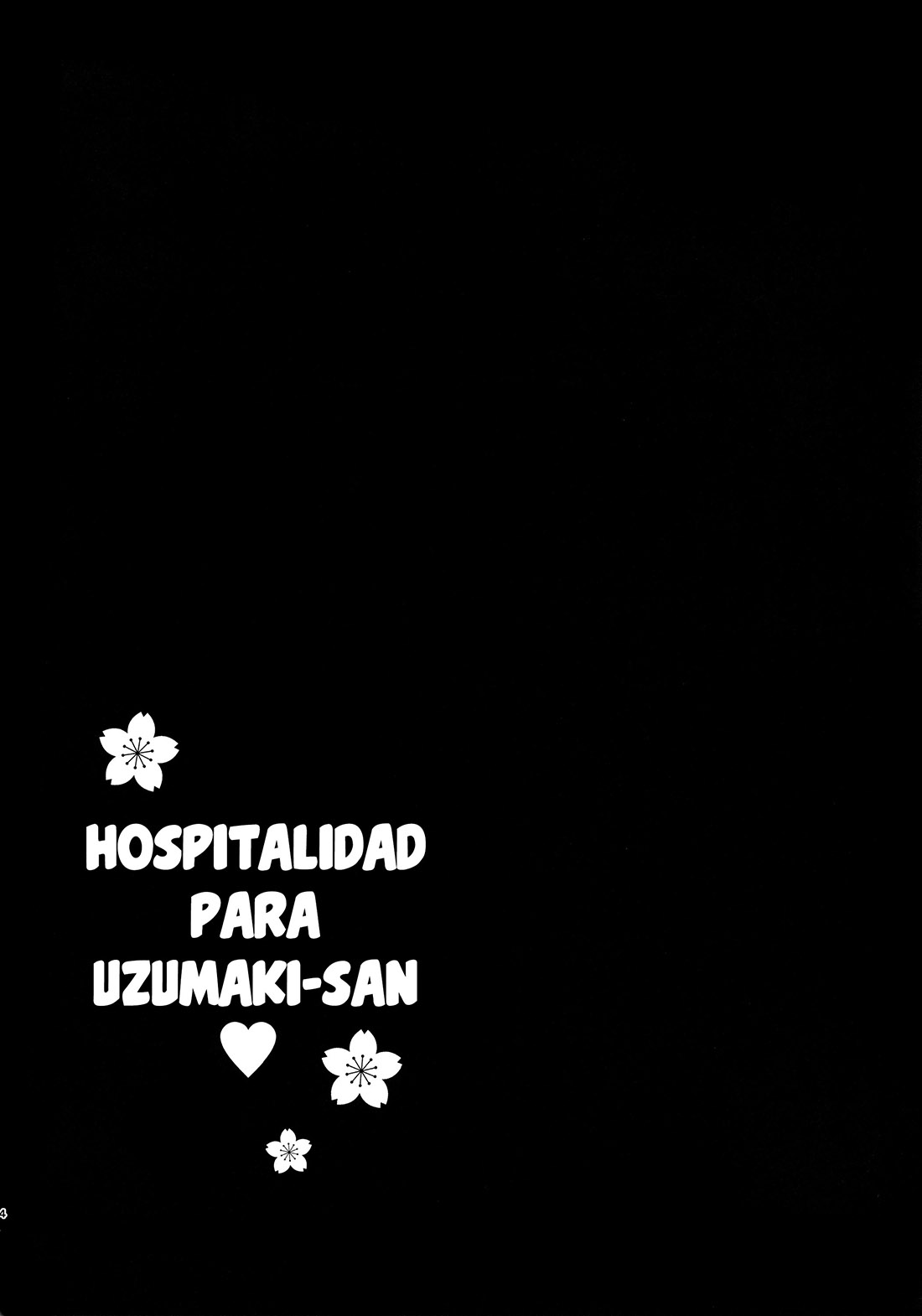 Hospitalidad para UZAMAKI