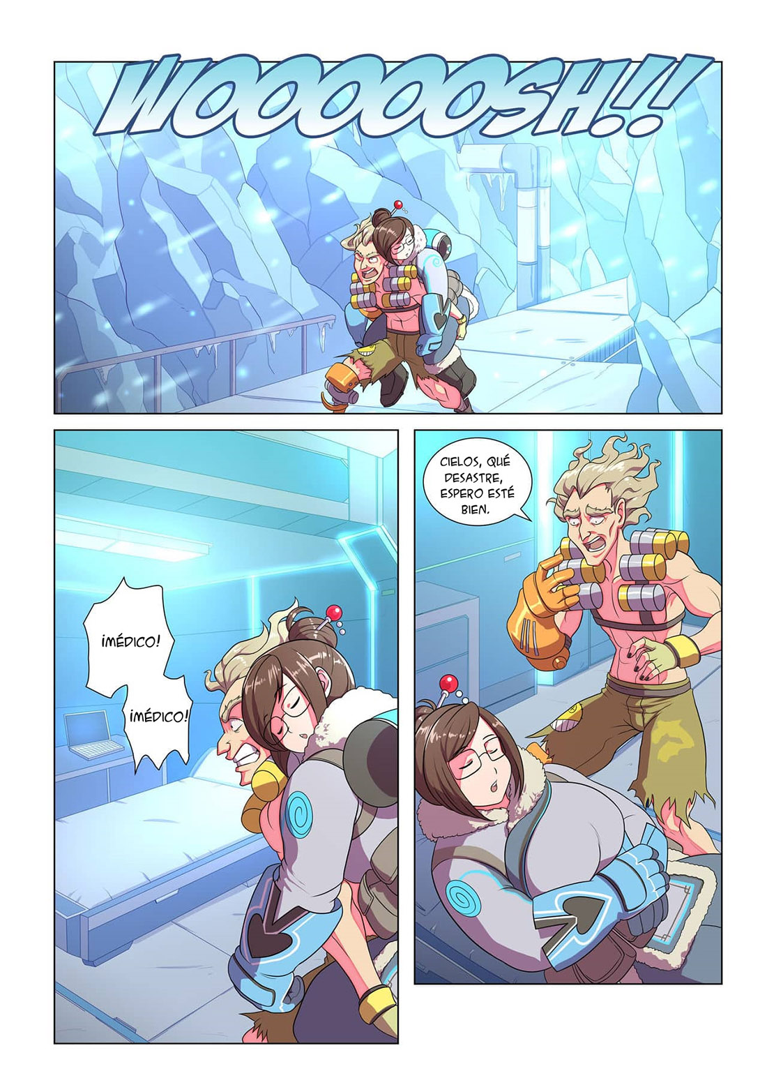 AMEIZING Frost Job parte 1