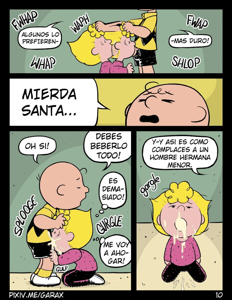 You are Fucker Sister CHARLIE BROWN parte 1