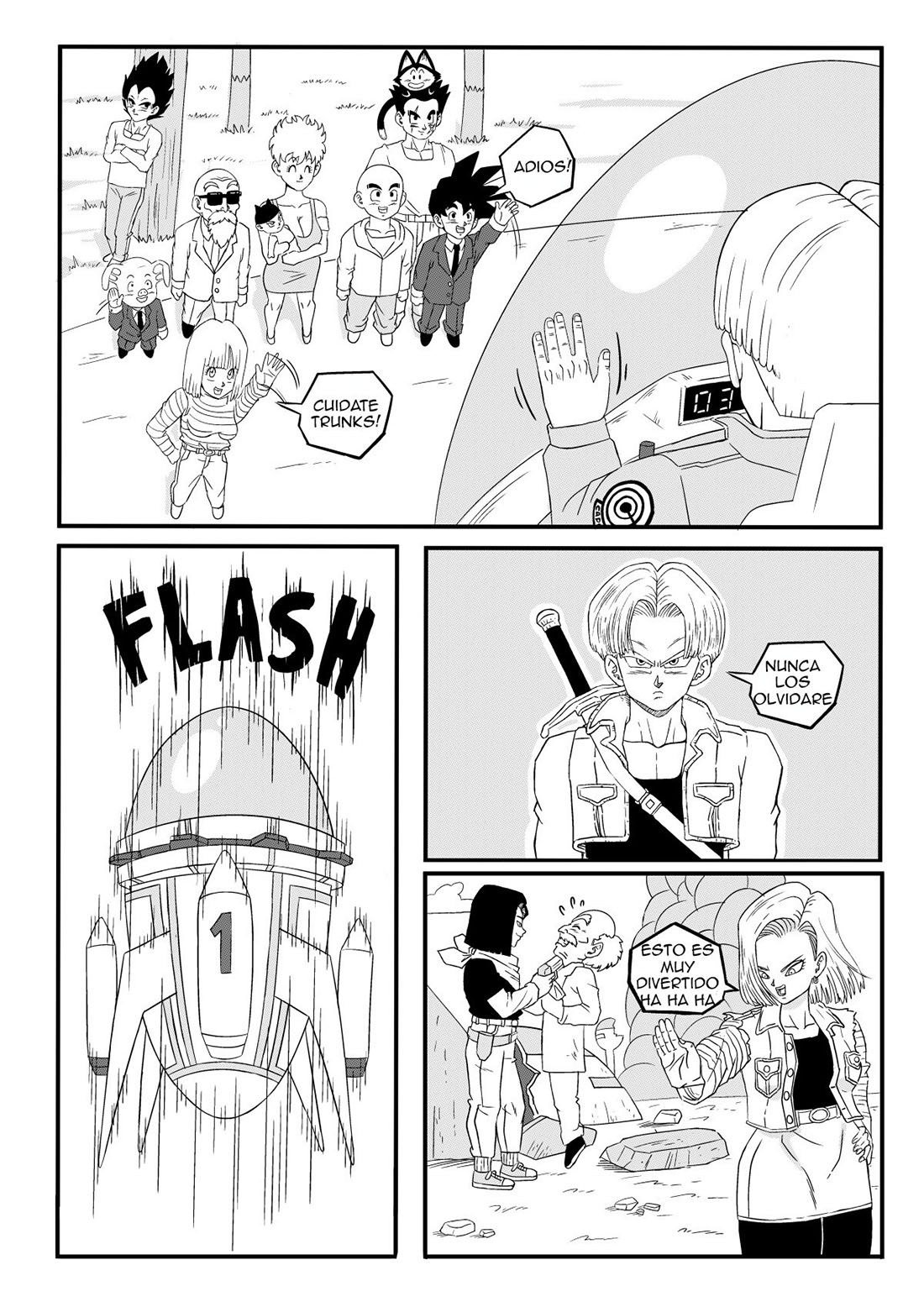 ANDROID 18 Stays in the FUTURE