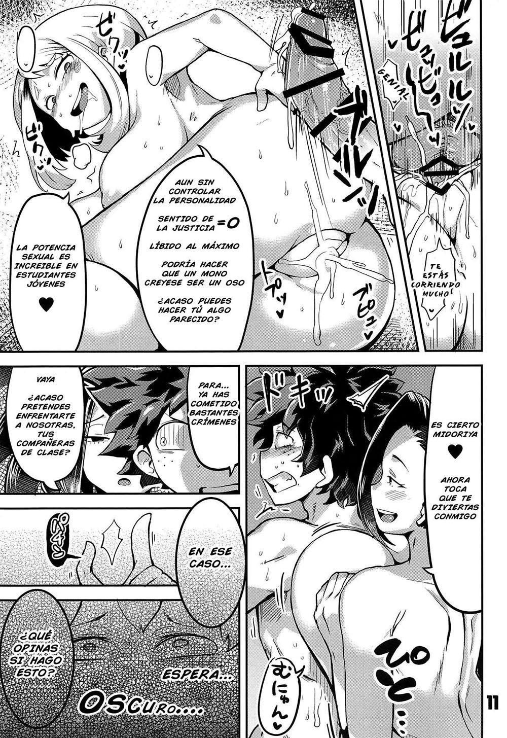 BOKU to Nottori Villain NAKADEMIA parte 1