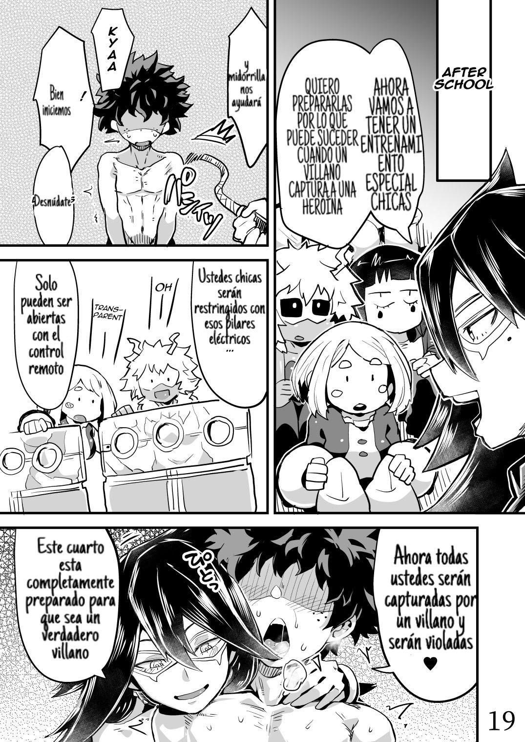 BOKU to Nottori Villain NAKADEMIA parte 2