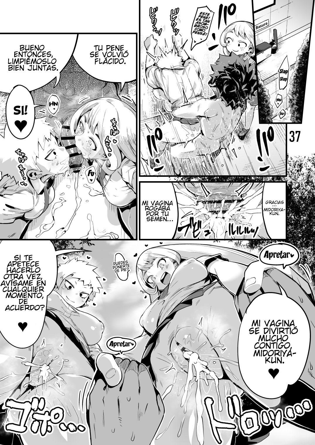 BOKU to Nottori Villain NAKADEMIA parte 3