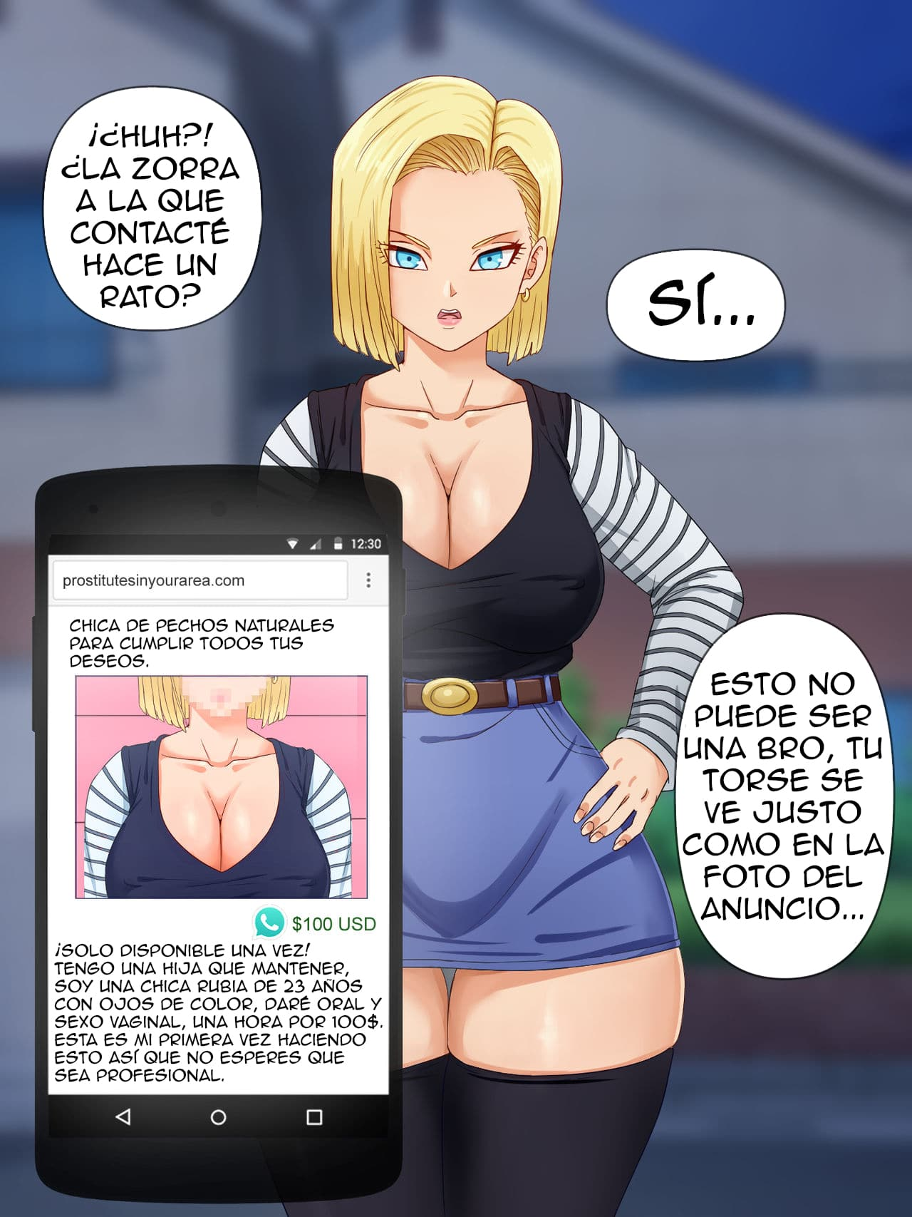 ANDROID 18 CG