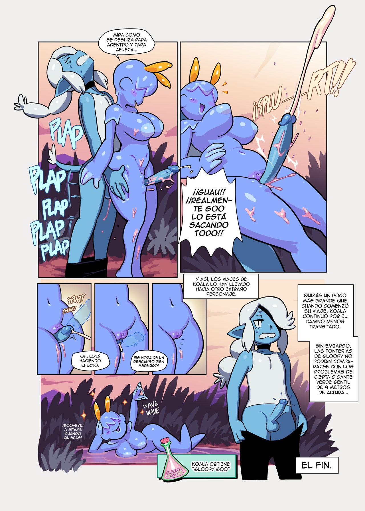 MARINA and GLOOPY Combo Comic