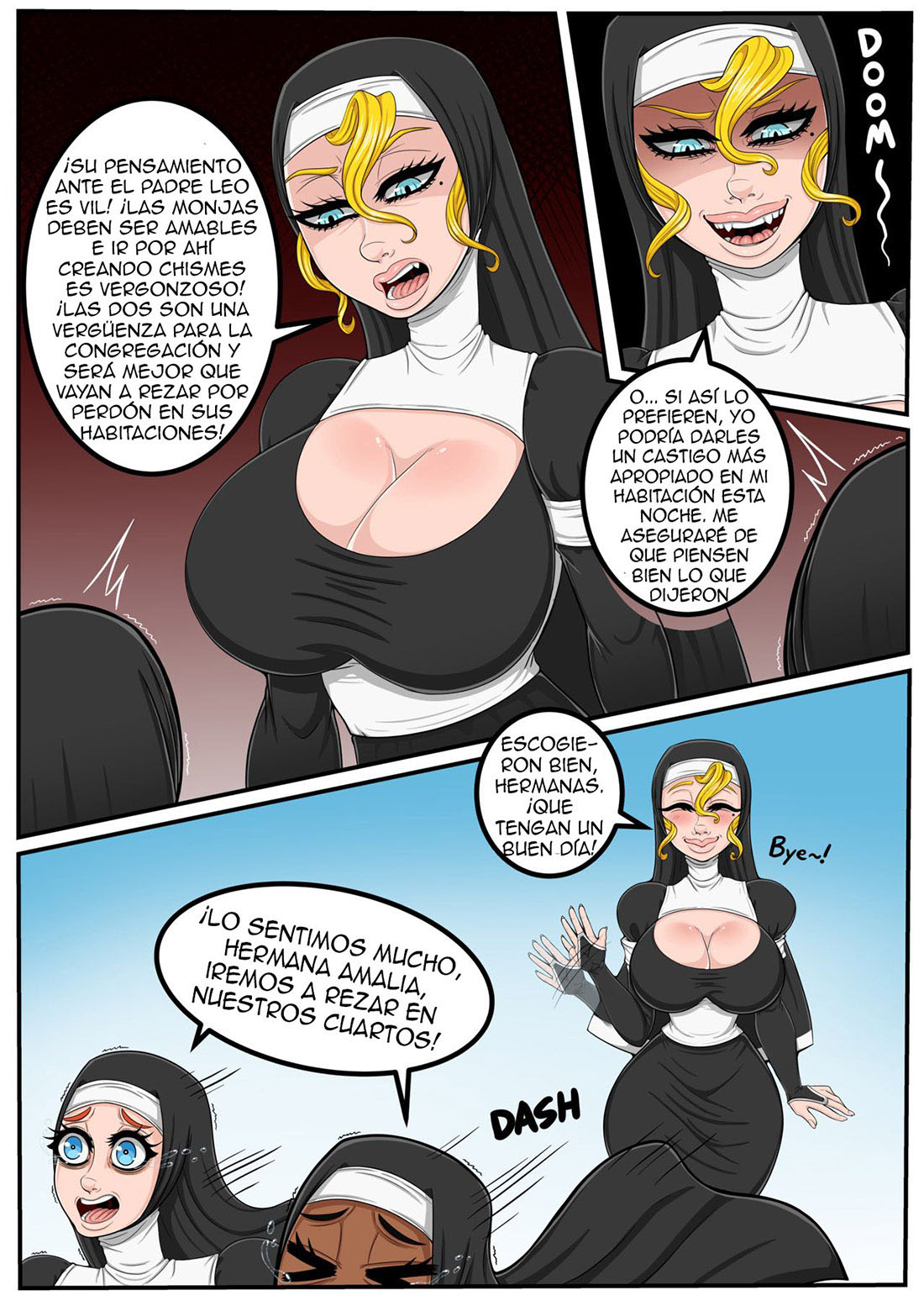 The NUN and her PRIEST