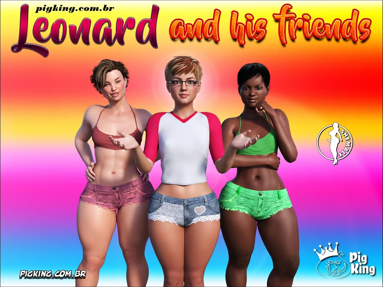 LEONARD and his FRIENDS parte 1