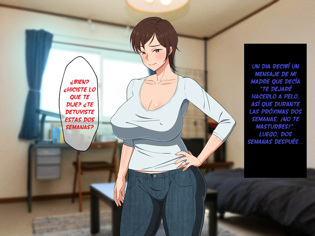 OKORU to KOWAI Kaa-San Dakedo Aegigoe wa Kawaii